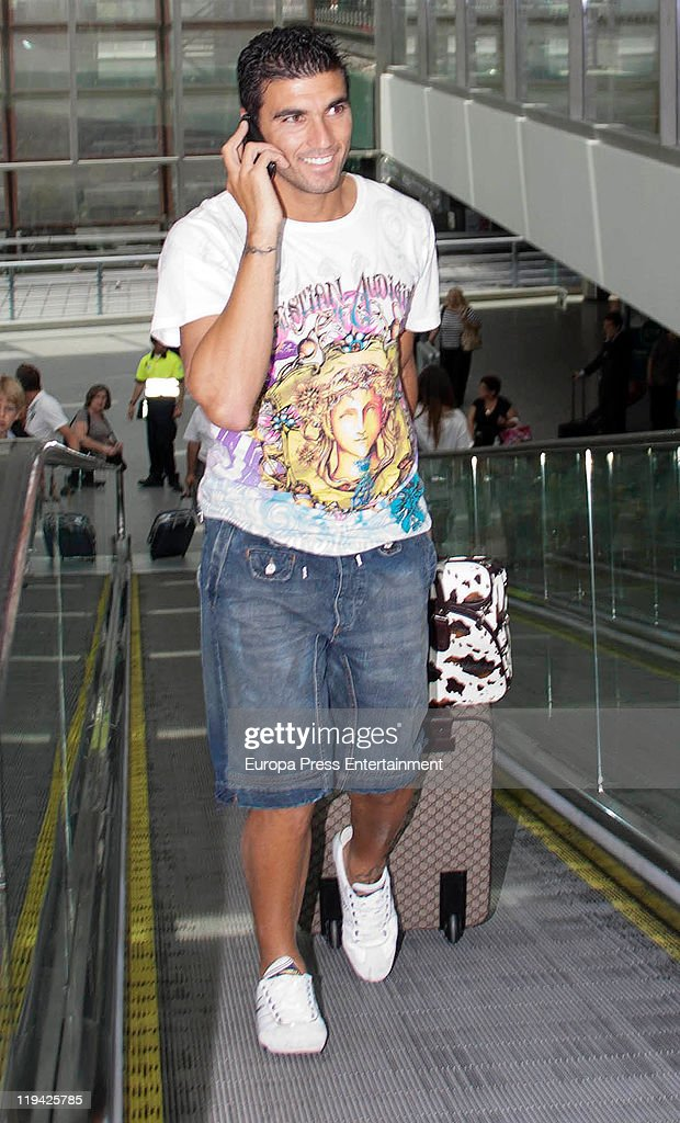 Celebrities Sighting In Madrid - July 20, 2011