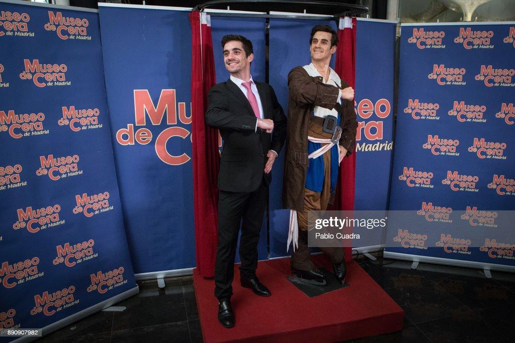 Javier Fernandez Unveils His Wax Figure