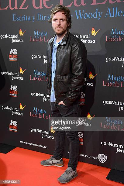 Spanish journalist Alvaro de la Lama attends 'Inquilinos' premiere photocall at Madrid Premiere Week on December 2 2014 in Madrid Spain