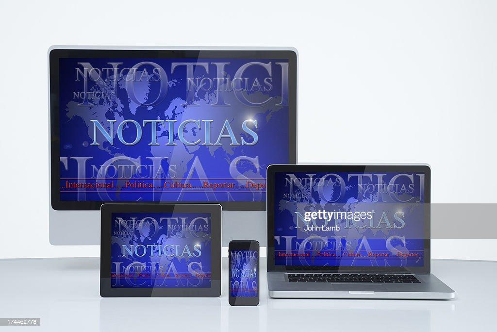 Spanish language service : Stock Photo