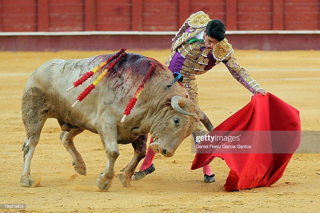 Malaga Bullfights Fair 2012: Javier Conde, Sebastian Castella and Alejandro Talavante