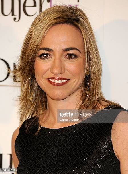Spanish Minister of Defense Carme Chacon attends the ''Mujer de Hoy'' 2009 awards at ABC building on December 9 2009 in Madrid Spain