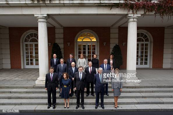 Spanish Minister of Justice Rafael Catala Spanish Deputy Prime Minister and Minister of the Regions Soraya Saenz de Santamaria Anton Spanish Prime...