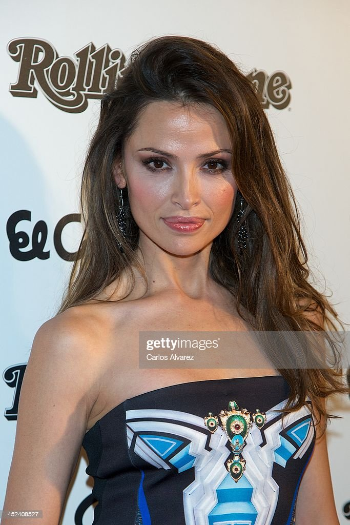Spanish model <a gi-track='captionPersonalityLinkClicked' href=/galleries/search?phrase=Almudena+Fernandez&family=editorial&specificpeople=2335238 ng-click='$event.stopPropagation()'>Almudena Fernandez</a> attends the Rolling Stone Magazine Awards 2013 at the Kapital Club on November 28, 2013 in Madrid, Spain.