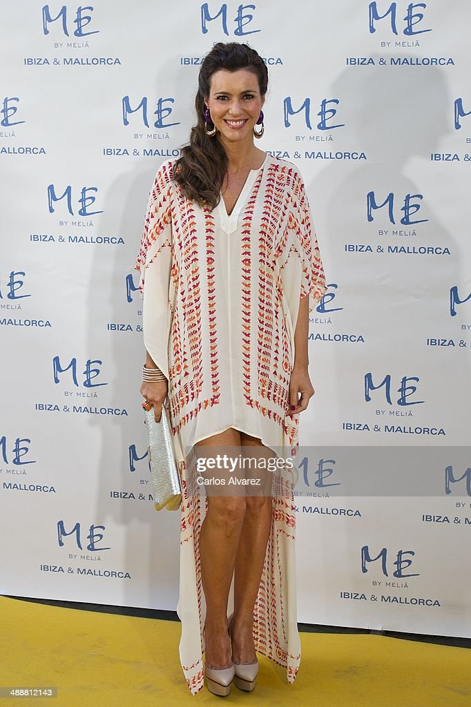 Spanish model Arantxa del Sol attends the Hotel ME reopening party on May 8, 2014 in Madrid, Spain.