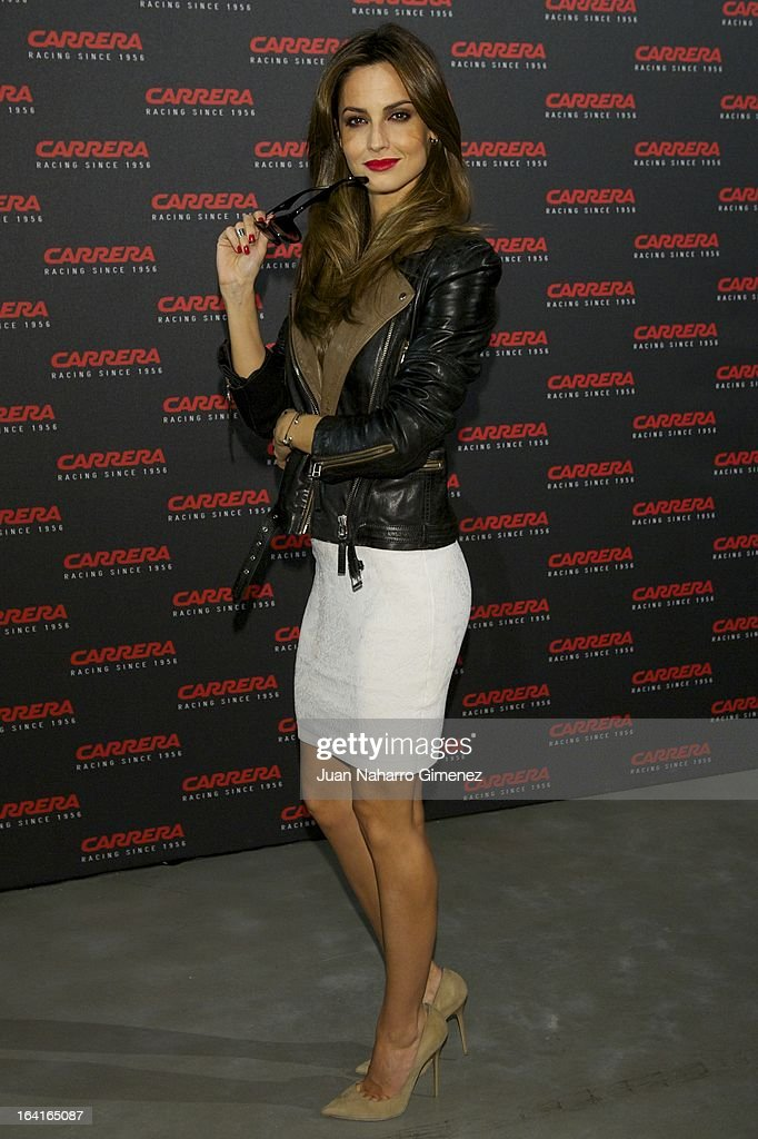 Spanish model Ariadne Artiles attends 'Carrera Ignition Night' party at Matadero on March 20, 2013 in Madrid, Spain.