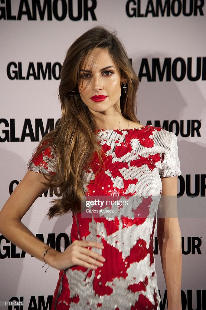 Spanish model Ariadne Artiles attends 'Glamour' beauty awards 2012 at Pacha Club on March 14, 2012 in Madrid, Spain.