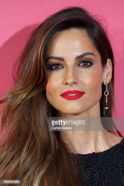 Spanish model Ariadne Artiles attends the Cosmopolitan Fun Fearless Female Awards 2013 at the Ritz Hotel on October 22 2013 in Madrid Spain