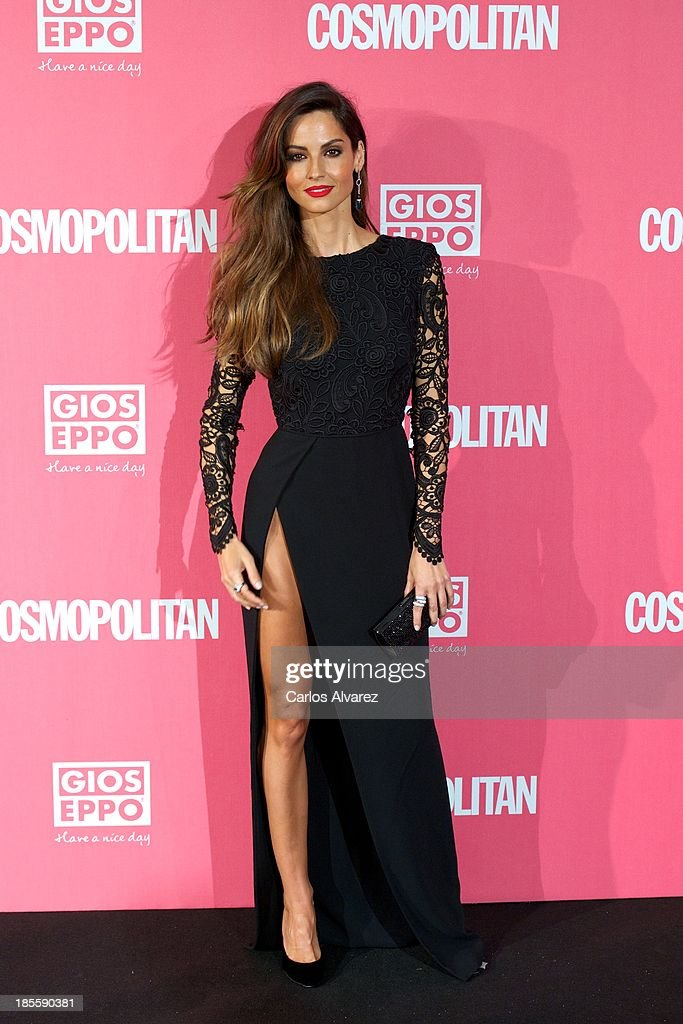 Spanish model <a gi-track='captionPersonalityLinkClicked' href=/galleries/search?phrase=Ariadne+Artiles&family=editorial&specificpeople=714754 ng-click='$event.stopPropagation()'>Ariadne Artiles</a> attends the Cosmopolitan Fun Fearless Female Awards 2013 at the Ritz Hotel on October 22, 2013 in Madrid, Spain.