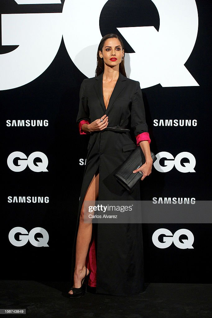 Spanish model Ariadne Artiles attends the GQ Men Of The Year award 2012 at the Ritz Hotel on November 19, 2012 in Madrid, Spain.