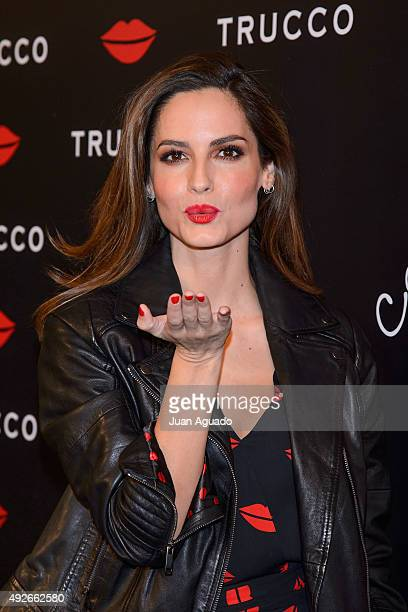 Spanish model Ariadne Artiles presents KissKiss Collection By Trucco on October 14 2015 in Madrid Spain