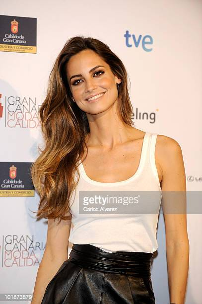 Spanish model Ariadne Artiles promotes Gran Canaria Moda Calida on June 8 2010 in Madrid Spain