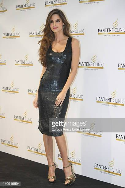Spanish model Ariadne attends new Pantene Clinic opening on March 7 2012 in Madrid Spain