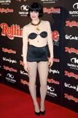 Spanish model Bimba Bose attends Rolling Stone Awards 2012 at the Kapital Club on November 21 2012 in Madrid Spain