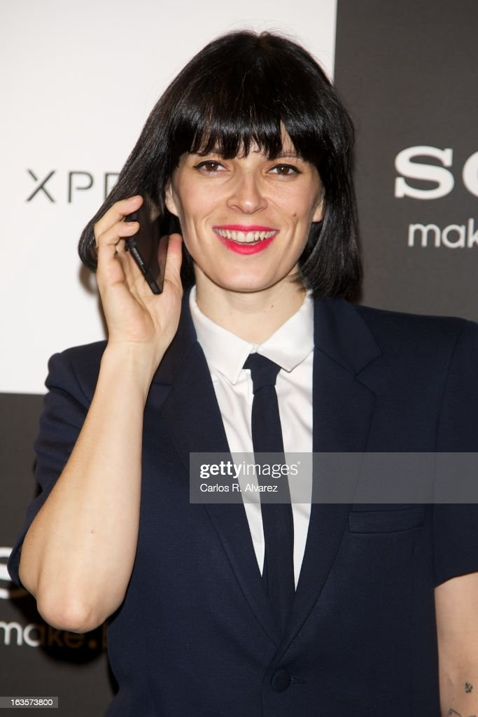 Spanish model <a gi-track='captionPersonalityLinkClicked' href=/galleries/search?phrase=Bimba+Bose&family=editorial&specificpeople=805271 ng-click='$event.stopPropagation()'>Bimba Bose</a> attends the Sony Mobile Gala premiere at the Callao cinema on March 12, 2013 in Madrid, Spain.