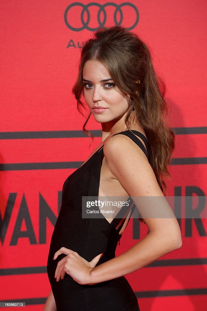 Spanish model Clara Alonso attends the Vanity Fair 5th anniversary paty at the Santa Coloma Palace on October 10, 2013 in Madrid, Spain.