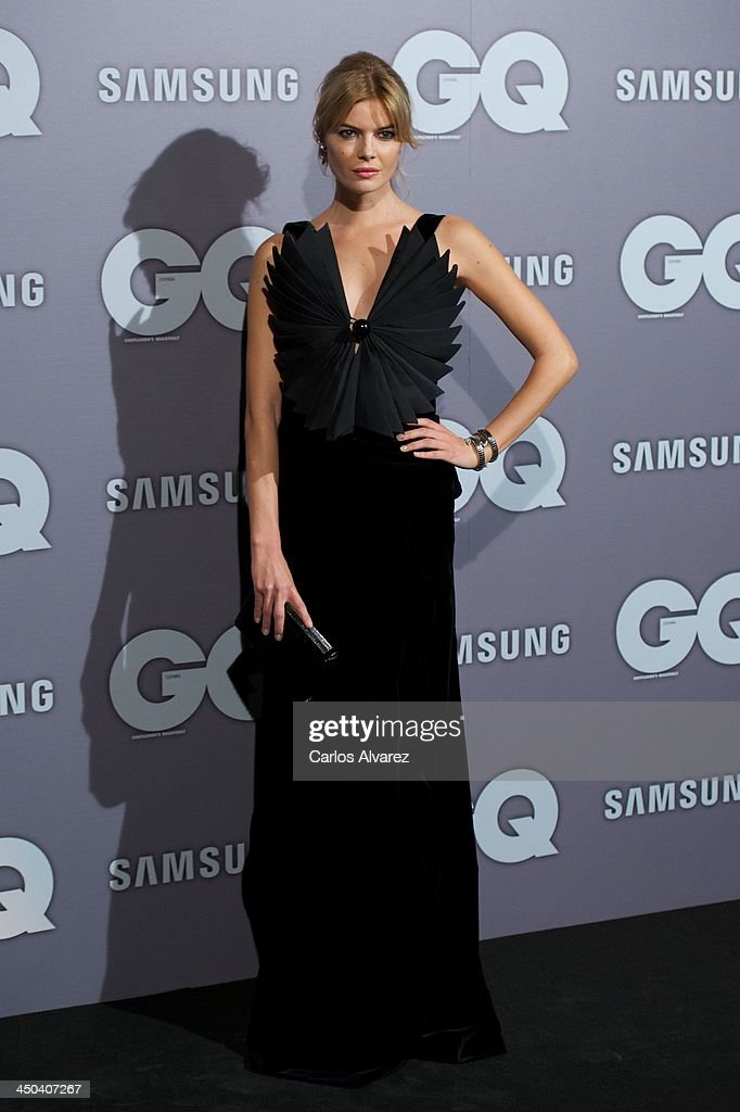 Spanish model Cristina Tosio attends the GQ Men Of The Year Award 2013 at the Palace Hotel on November 18, 2013 in Madrid, Spain.