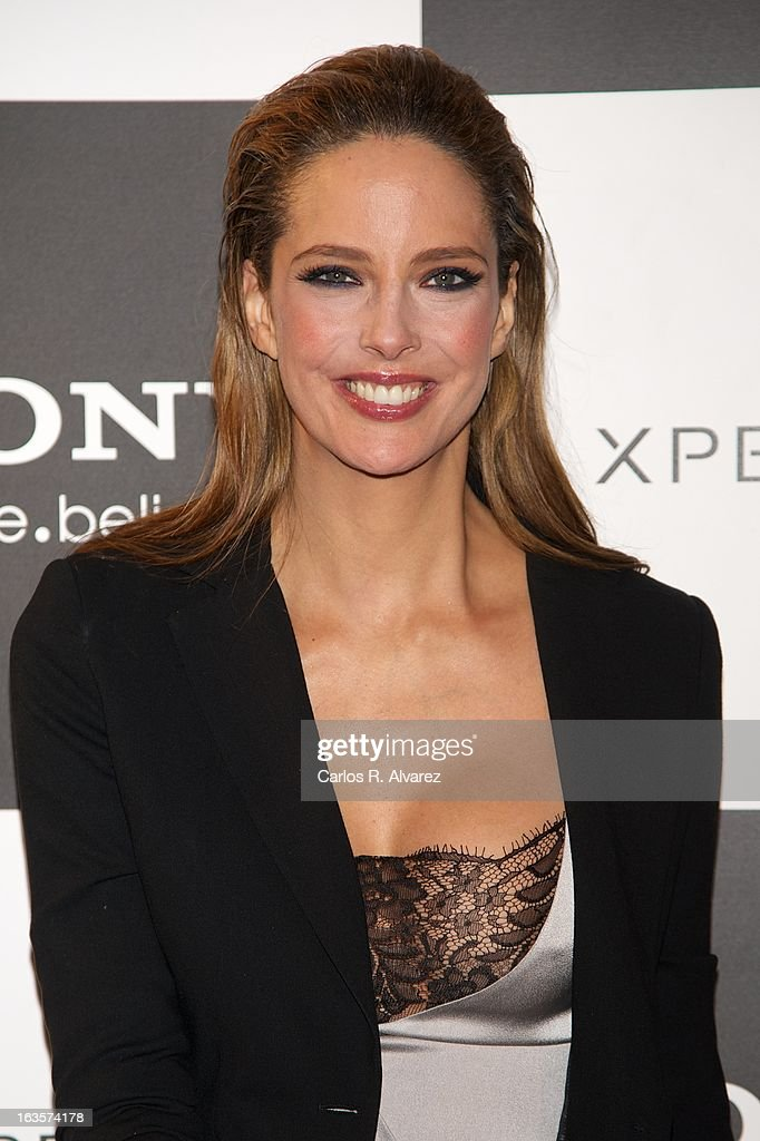 Spanish model Estefania Luyk attends the Sony Mobile Gala premiere at the Callao cinema on March 12, 2013 in Madrid, Spain.