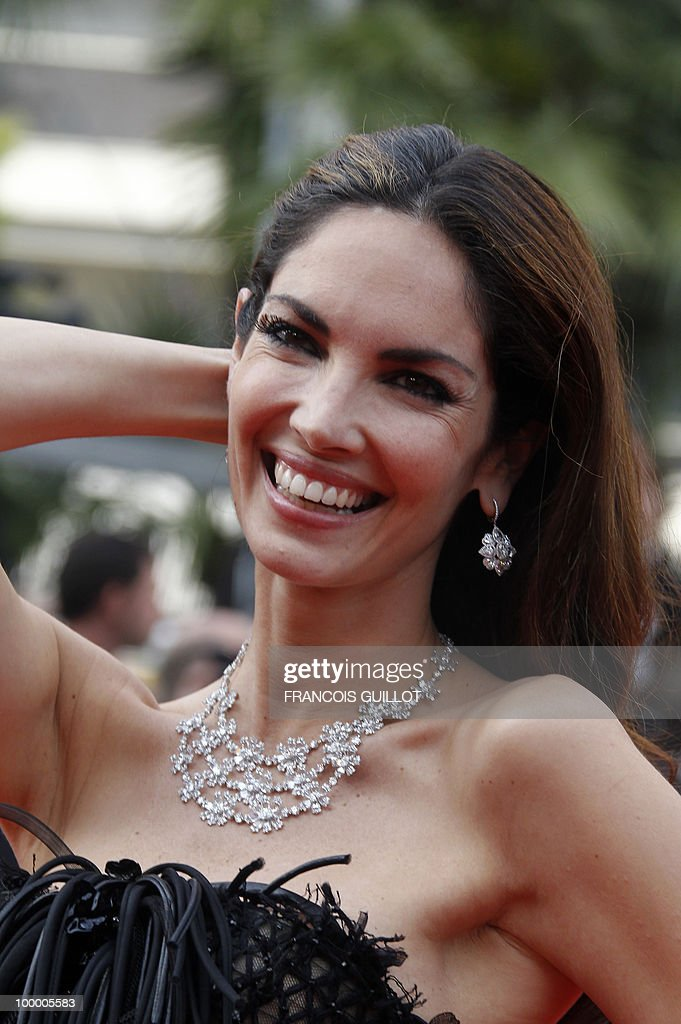 Spanish model Eugenia Silva arrives for the screening of 'Poetry' presented in competition at the 63rd Cannes Film Festival on May 19, 2010 in Cannes.