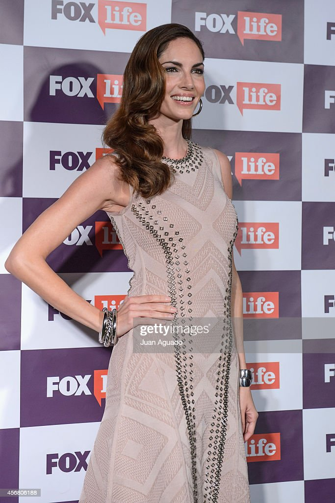 Spanish model Eugenia Silva attends the Fox Live new channel cocktail presentation at Pinar Club on October 7 2014 in Madrid Spain