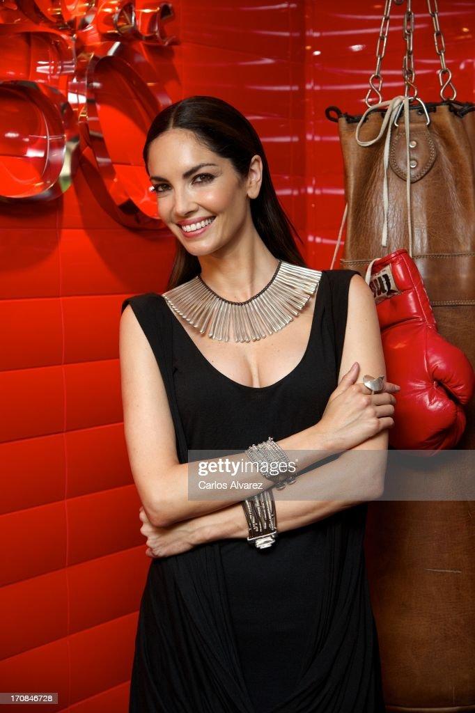 Spanish model Eugenia Silva attends the 'Uno de 50' new collection presentation on June 19 2013 in Madrid Spain