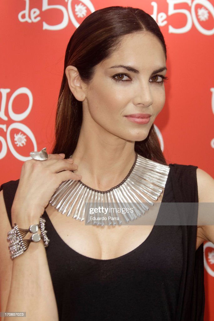 Eugenia Silva Attends 'Uno de 50' Event in Madrid