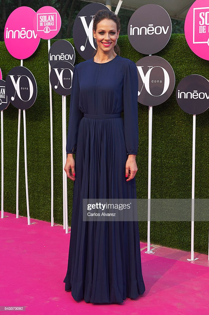 Spanish model <a gi-track='captionPersonalityLinkClicked' href=/galleries/search?phrase=Eva+Gonzalez&family=editorial&specificpeople=242818 ng-click='$event.stopPropagation()'>Eva Gonzalez</a> attends 'Yo Dona' International awards on June 27, 2016 in Madrid, Spain.