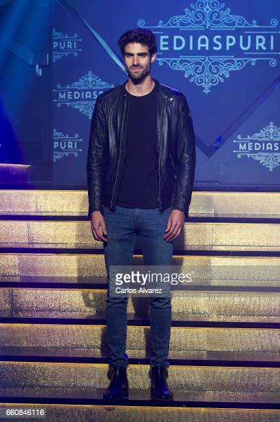 Spanish model Juan Betancourt attends the opening of the new Clandestine Show Club 'The Secret' on March 30 2017 in Madrid Spain