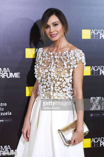 Spanish model Juncal Rivero attends the 'Academia del Perfume' awards 2017 at the Zarzuela Teather on May 22 2017 in Madrid Spain
