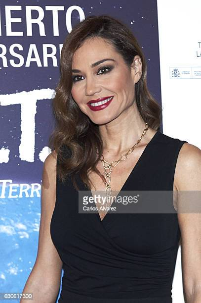 Spanish model Juncal Rivero attends the ET 35th anniversary concert at the Zarzuela Theater on December 28 2016 in Madrid Spain