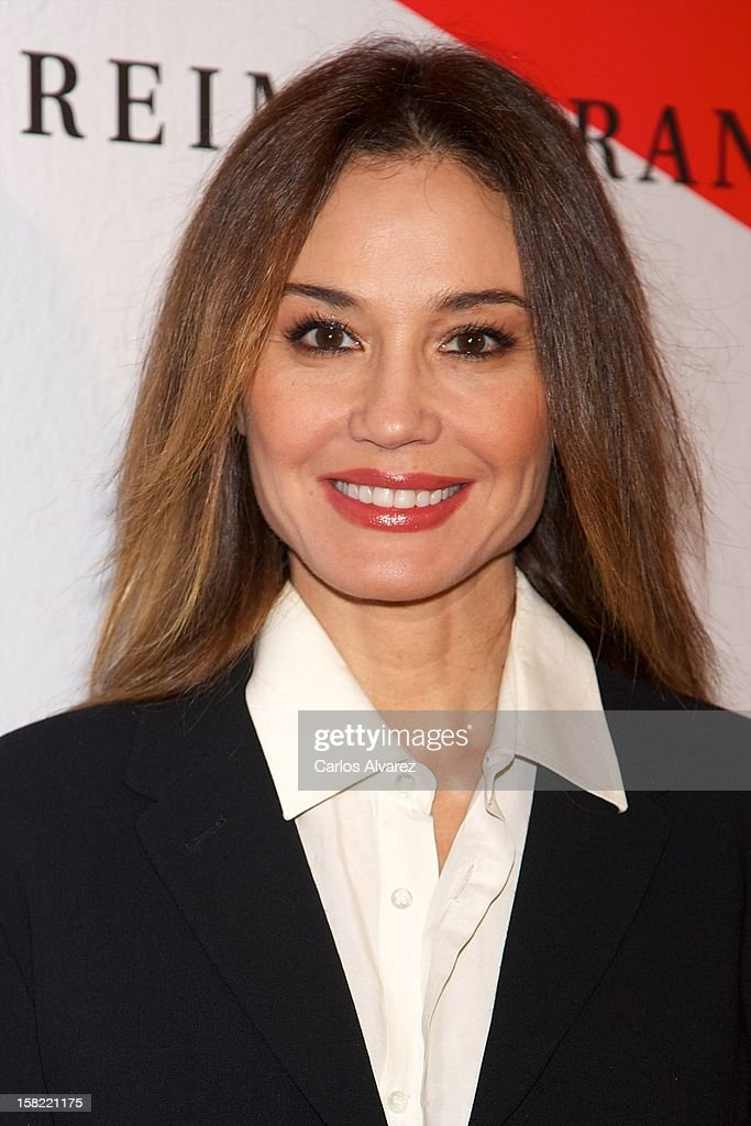 Spanish model Juncal Rivero attends the Maison Mumm inauguration at the Santo Mauro Hotel on December 11, 2012 in Madrid, Spain.