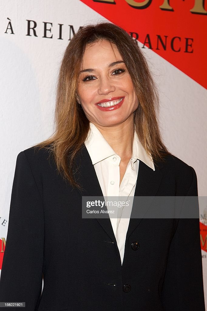 Spanish model Juncal Rivero attends the 'Maison Mumm' inauguration at the Santo Mauro Hotel on December 11, 2012 in Madrid, Spain.