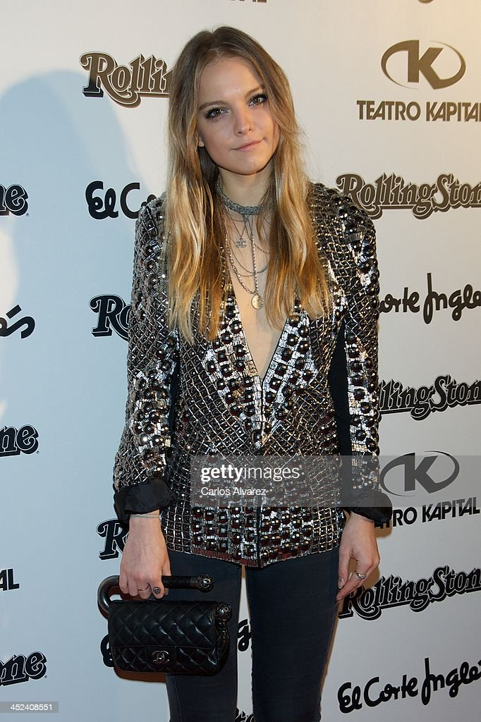 Spanish model Laura Hayden attends the Rolling Stone Magazine Awards 2013 at the Kapital Club on November 28, 2013 in Madrid, Spain.