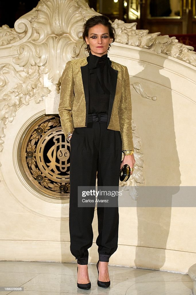 Spanish model <a gi-track='captionPersonalityLinkClicked' href=/galleries/search?phrase=Laura+Ponte&family=editorial&specificpeople=578075 ng-click='$event.stopPropagation()'>Laura Ponte</a> attends the Ralph Lauren Dinner Charity Gala at the Casino de Madrid in on November 14, 2013 in Madrid, Spain.