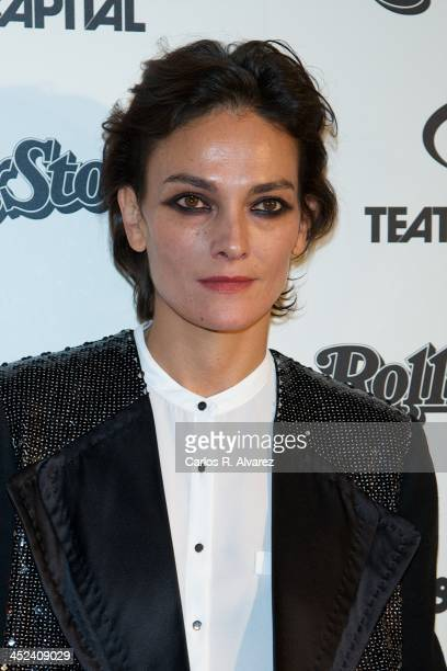 Spanish model Laura Ponte attends the Rolling Stone Magazine Awards 2013 at the Kapital Club on November 28 2013 in Madrid Spain