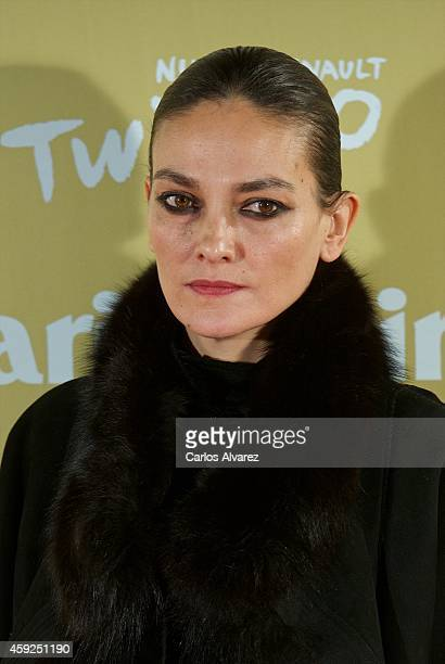 Spanish model Laura Ponte attends the XII Marie Claire Prix de la Moda Awards at the Callao cinema on November 19 2014 in Madrid Spain