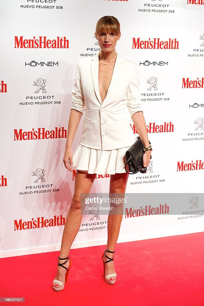 Spanish model <a gi-track='captionPersonalityLinkClicked' href=/galleries/search?phrase=Laura+Sanchez+-+Model&family=editorial&specificpeople=4311458 ng-click='$event.stopPropagation()'>Laura Sanchez</a> attends Men's Health Awards 2013 at the Canal Theater on October 29, 2013 in Madrid, Spain.