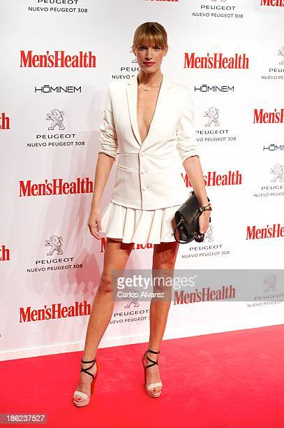 Spanish model Laura Sanchez attends Men's Health Awards 2013 at the Canal Theater on October 29 2013 in Madrid Spain