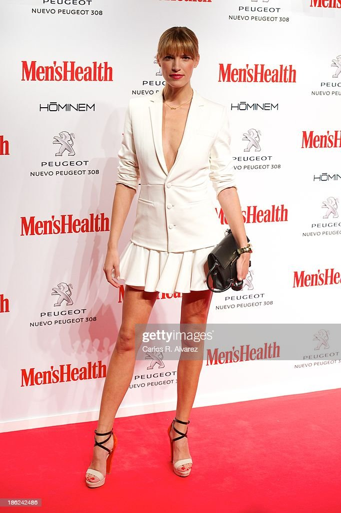 Spanish model Laura Sanchez attends Men's Health Awards 2013 at the Canal Theater on October 29, 2013 in Madrid, Spain.