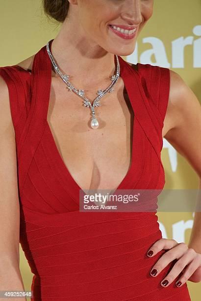 Spanish model Laura Sanchez attends the XII Marie Claire Prix de la Moda Awards at the Callao cinema on November 19 2014 in Madrid Spain