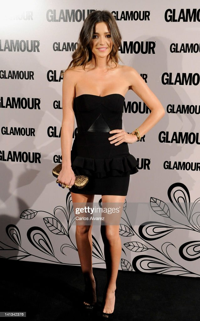 Spanish model <a gi-track='captionPersonalityLinkClicked' href=/galleries/search?phrase=Malena+Costa&family=editorial&specificpeople=5723369 ng-click='$event.stopPropagation()'>Malena Costa</a> attends 'Glamour' beauty awards 2012 at Pacha Club on March 14, 2012 in Madrid, Spain.