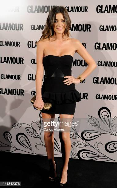 Spanish model Malena Costa attends 'Glamour' beauty awards 2012 at Pacha Club on March 14 2012 in Madrid Spain
