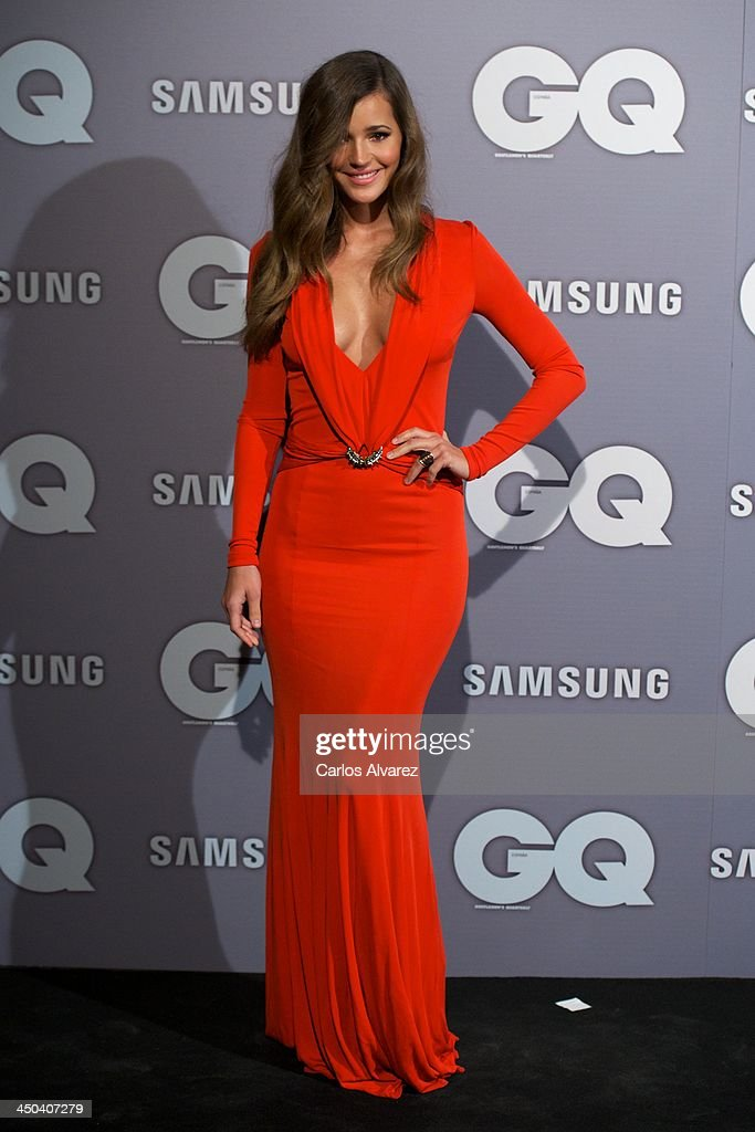 Spanish model <a gi-track='captionPersonalityLinkClicked' href=/galleries/search?phrase=Malena+Costa&family=editorial&specificpeople=5723369 ng-click='$event.stopPropagation()'>Malena Costa</a> attends the GQ Men Of The Year Award 2013 at the Palace Hotel on November 18, 2013 in Madrid, Spain.