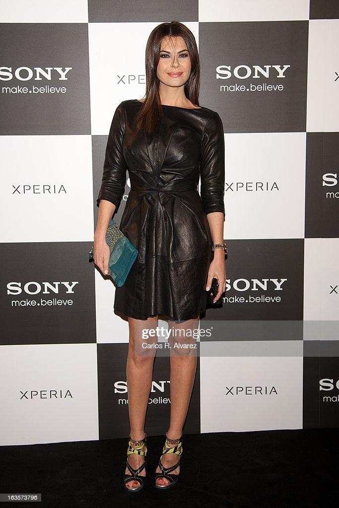 Spanish model Maria Jose Suarez attends the Sony Mobile Gala premiere at the Callao cinema on March 12, 2013 in Madrid, Spain.