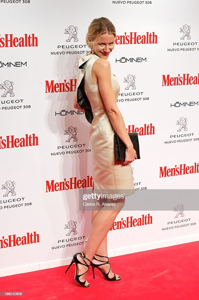 Spanish model Maria Leon attends Men's Health Awards 2013 at the Canal Theater on October 29, 2013 in Madrid, Spain.