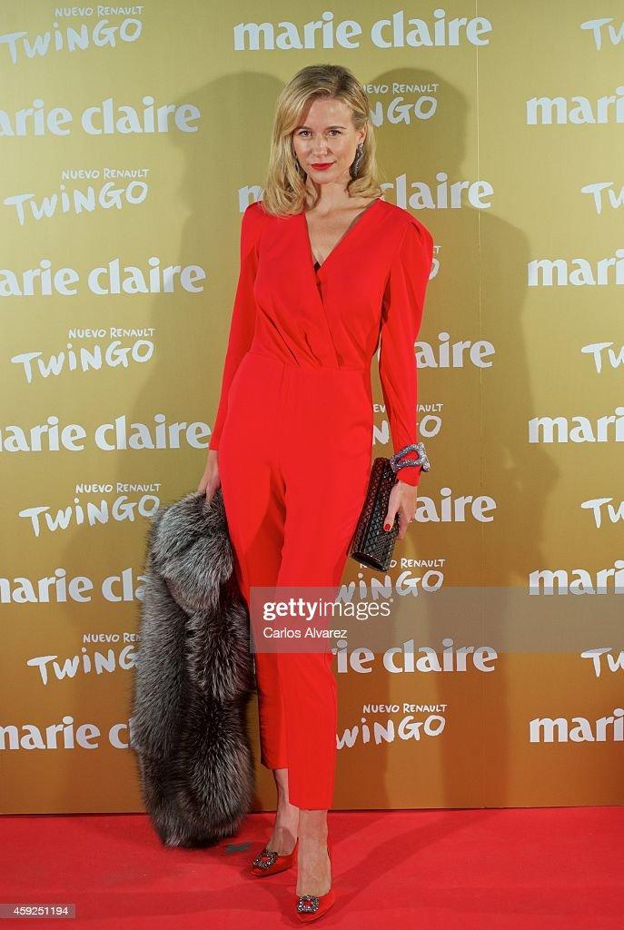 Spanish model Maria Leon attends the XII Marie Claire Prix de la Moda Awards at the Callao cinema on November 19 2014 in Madrid Spain