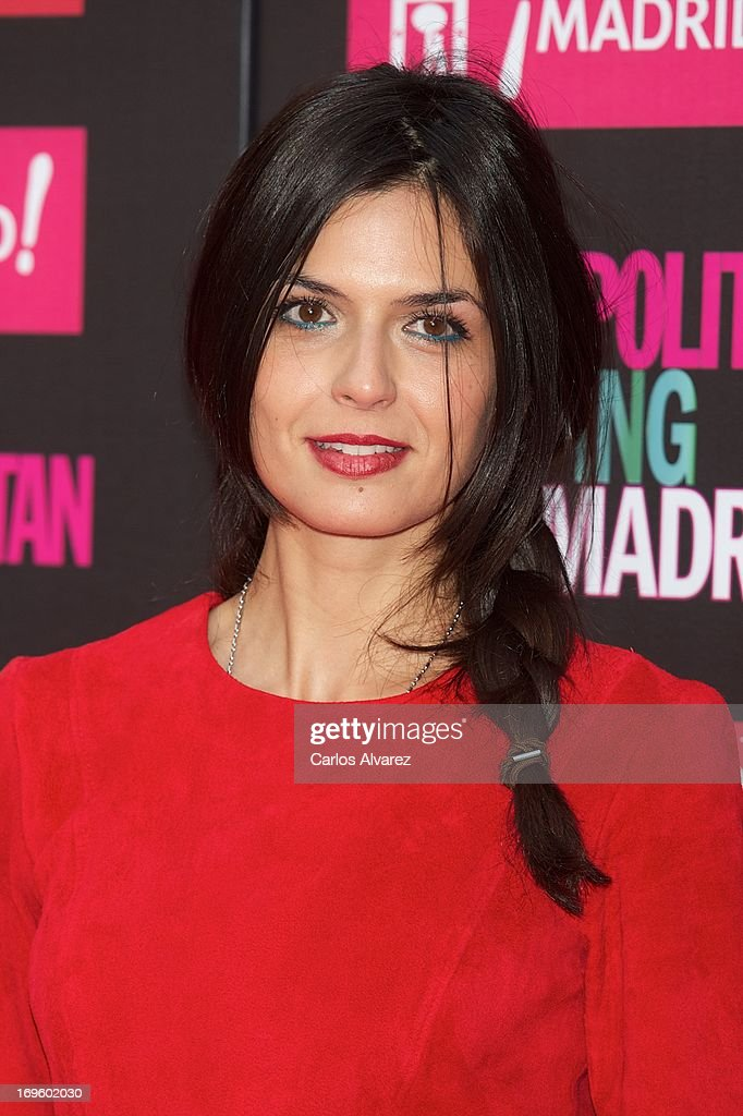 Spanish model Maria Reyes attends the 'Cosmopolitan Shopping Week' party at the Plaza de Callao on May 28, 2013 in Madrid, Spain.