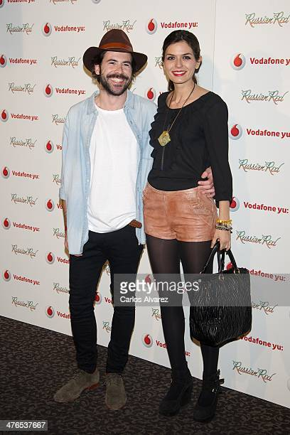 Spanish model Maria Reyes attends the Russian Red concert at La Riviera Club on March 3 2014 in Madrid Spain