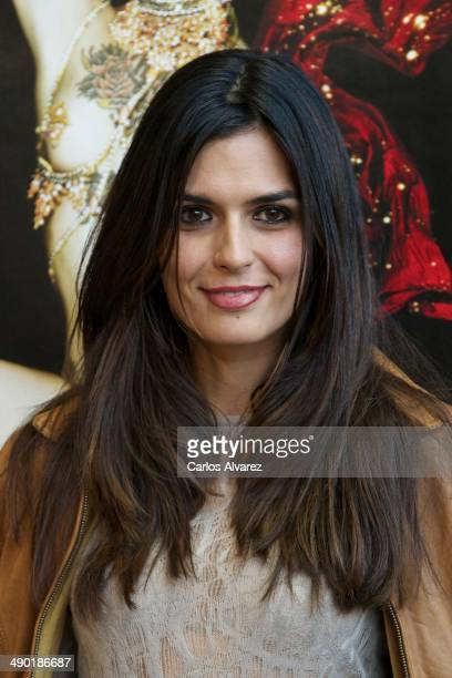 Spanish model Maria Reyes attends the 'The Hole 2' closing party at the La Latina Teather on May 13 2014 in Madrid Spain