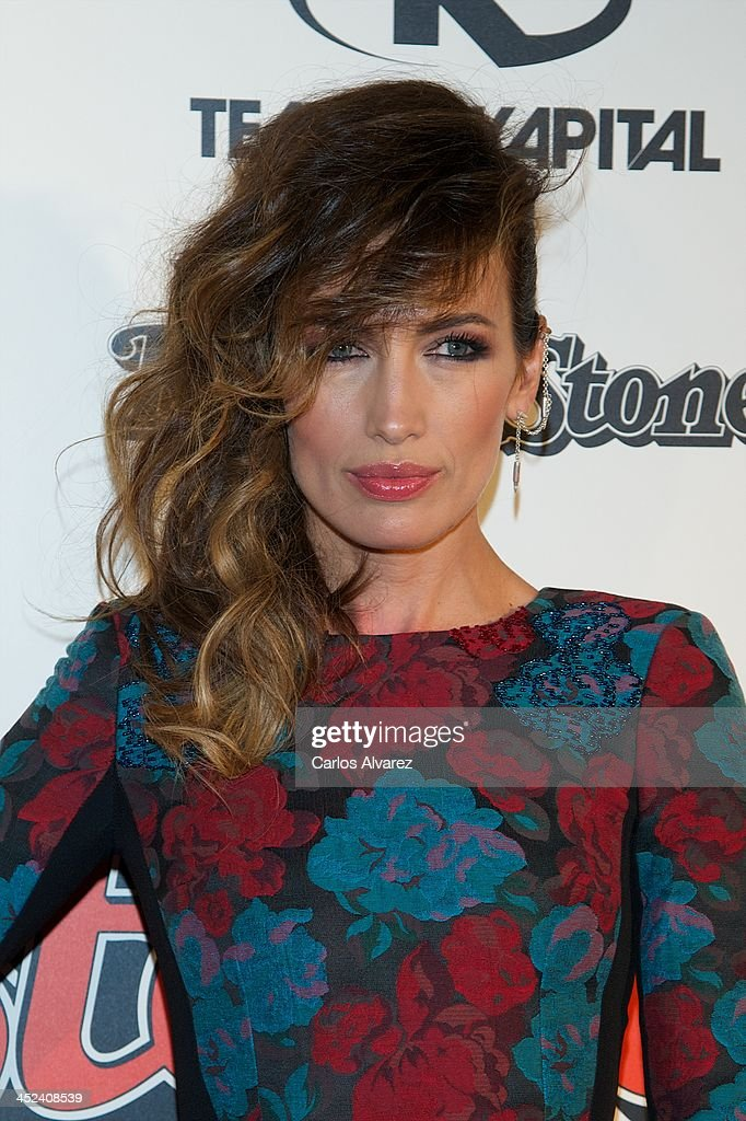 Spanish model <a gi-track='captionPersonalityLinkClicked' href=/galleries/search?phrase=Nieves+Alvarez&family=editorial&specificpeople=234377 ng-click='$event.stopPropagation()'>Nieves Alvarez</a> attends the Rolling Stone Magazine Awards 2013 at the Kapital Club on November 28, 2013 in Madrid, Spain.